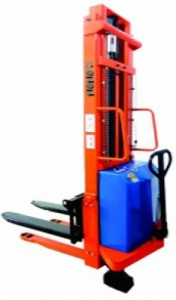 hand stacker semi electric 1 ton 3 meter gozoz